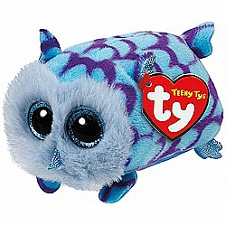 Mimi Blue Owlï¾  - Teeny Tys 4 inch - Stuffed Animal by Ty (42144)