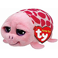 Shuffler Pink Turtleï¾ ï¾  Teeny Tys 4 inch - Stuffed Animal by Ty (42145)