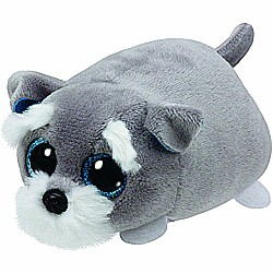 Ty Teeny Tys Jack the Grey Dog Plush