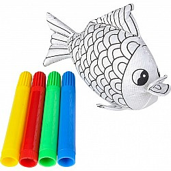 "5"" Fish Color-A-Pal"