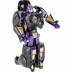 "5"" Black Bear Robot Action Figure"