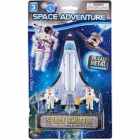"3 Pc 5.5"" Shuttle With Astronauts"