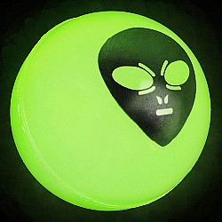 Glow Alien Bouncy Ball