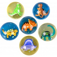 "1.75"" 45Mm Dinosaur Hi-Bounce Ball"