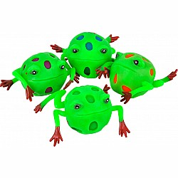 Frog Squeeze Mesh Ball