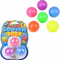 "1.6"" Squish Sticky Neon Orbs"