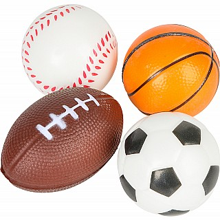 "2.5"" Sports Stress Ball (24Pc/Un)"