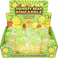 "3.75"" Squeezy Bead Pineapple"
