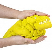 "14"" Glow In The Dark Jumbo Squish T-Rex"