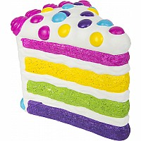 "11"" Jumbo Squish Birthday Cake"