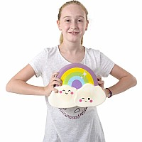 "11"" Jumbo Squish Rainbow Cloud"