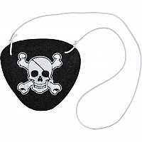 "2.5"" Felt Pirate Eye Patch"