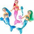 "3Pc 6"" Mermaid Set"