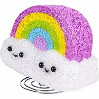 "9"" Sparkle Rainbow Cloud Lamp"