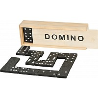 28 Pc Wooden Domino Set