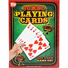 "8.5"" X 11.5"" Jumbo Poker Card Deck"
