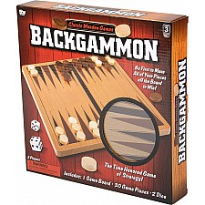 "10"" Wooden Backgammon"