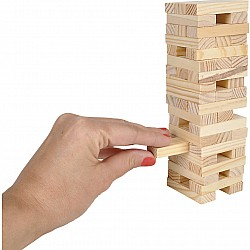 "6"" Wooden Tower Game"