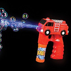 Light And Sound Fire Truck Bubble Blaster