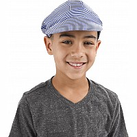 Child Size Blue Engineer Cap