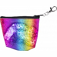 "4"" Rainbow Prism Coin Purse"