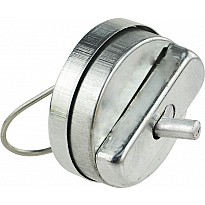 "1.5"" Wind-Up Metal Hand Buzzer"