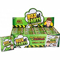 Box of Farts- 6 stinky Fart Bombs