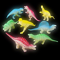 "5.5"" Glow In Dark Dinosaurs"