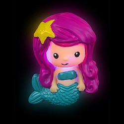 Light-Up Mermaid Bath Toy