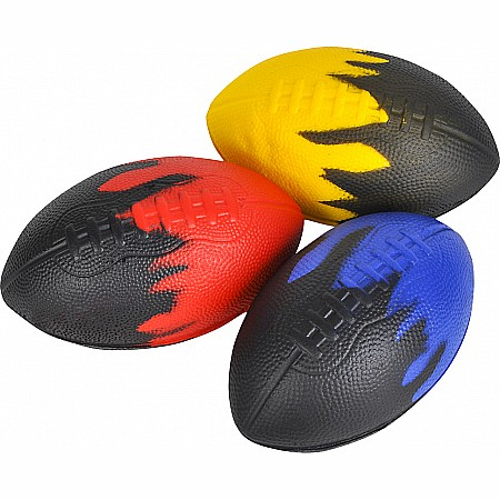"8"" Foam Flame Football"