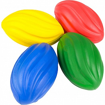 Foam Spiral Footballs 7in.