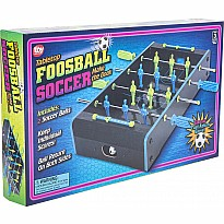 "20""X12.25"" Neon Wooden Tabletop Foosball Game"