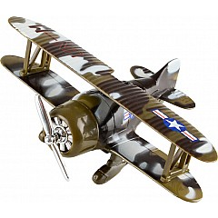 "6.5"" Die Cast Pull Back Camo Planes"