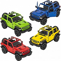Die Cast 2018 Jeep Wrangler Open Top
