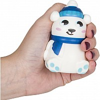 "3.5"" Squish Holiday Polar Bear"