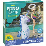 Unicorn Inflatable Ring Toss