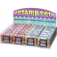 Mini Stamp Set Animals or Flower Power