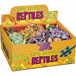 Sand Animals Reptiles, 1 per order, assorted