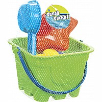 Beach Bucket 4pc Set