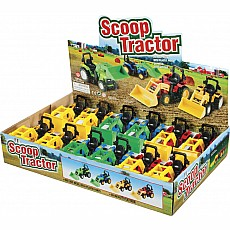 6In P/B Scoop Tractor