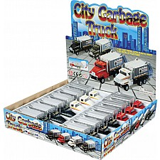 Die Cast City Garbage Truck