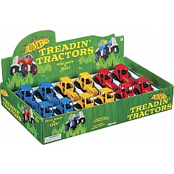 Jumbo Treadin' Tractor, 1 per, assorted color