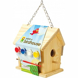 Paint A Birdhouse