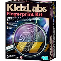 Detective Science Finger Print Kit