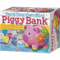 Paint A  Mini Piggy Ban