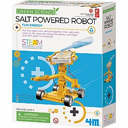 Salt Powered Robot, 4m STEM kit