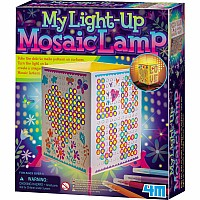 Light Up Mosaic Lamp
