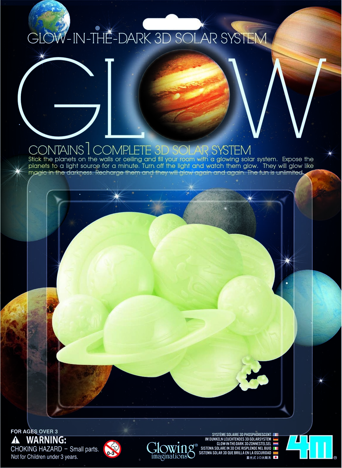 Glow 3d Solar System - Playthings Toy Shoppe