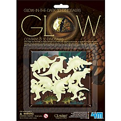 Glow 3d Dinosaur Wall Stickers