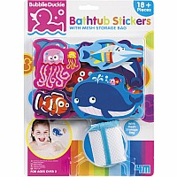 Bathtub Stickers Sealife